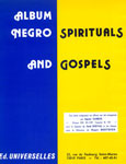 NEGRO SPIRITUALS AND GOSPELS