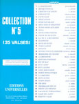 COLLECTION No 5 35 VALSES